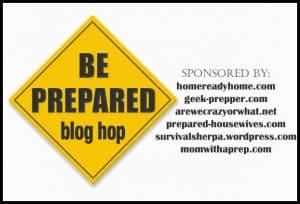 be prepared blog hop head